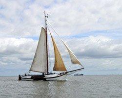 Zeiltocht op de Waddenzee