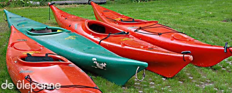 groepsuitstapje met de kano