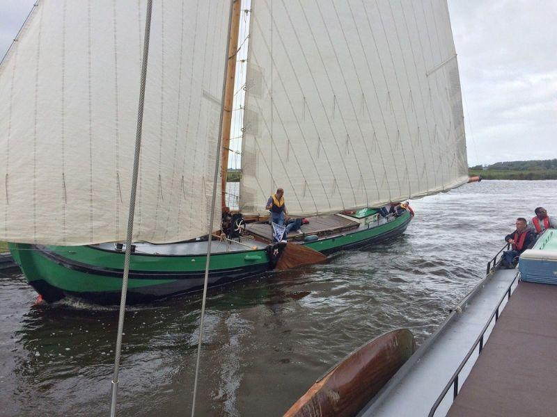 skutsjeverhuur in Heeg, Friesland