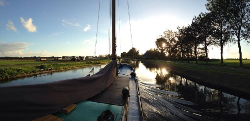 skûtsjeverhuur in Heeg, Friesland