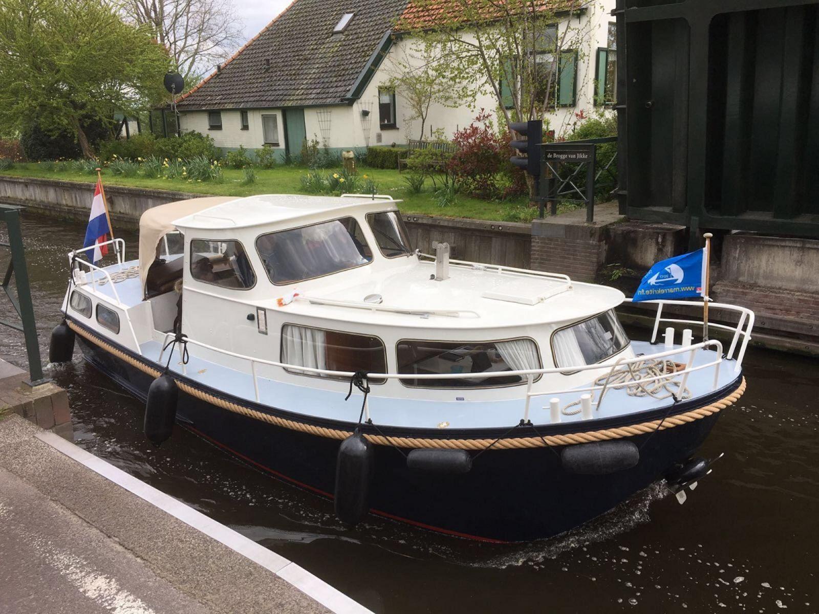yachtcharter op een unieke locatie in Friesland