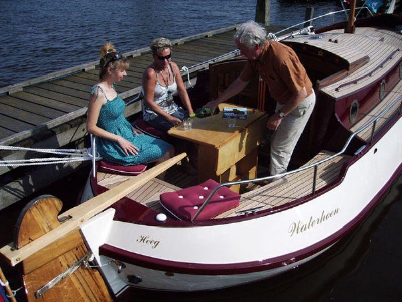 yachtcharter met unieke platbodemschepen