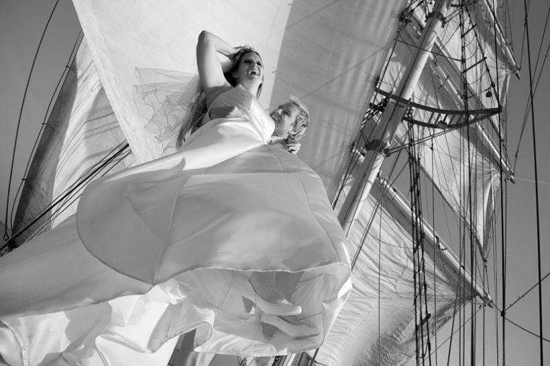 sfeervolle partyboot als trouwlocatie