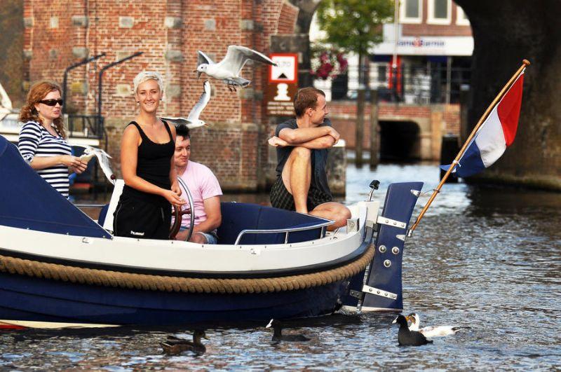 elegante sloepverhuur in Friesland