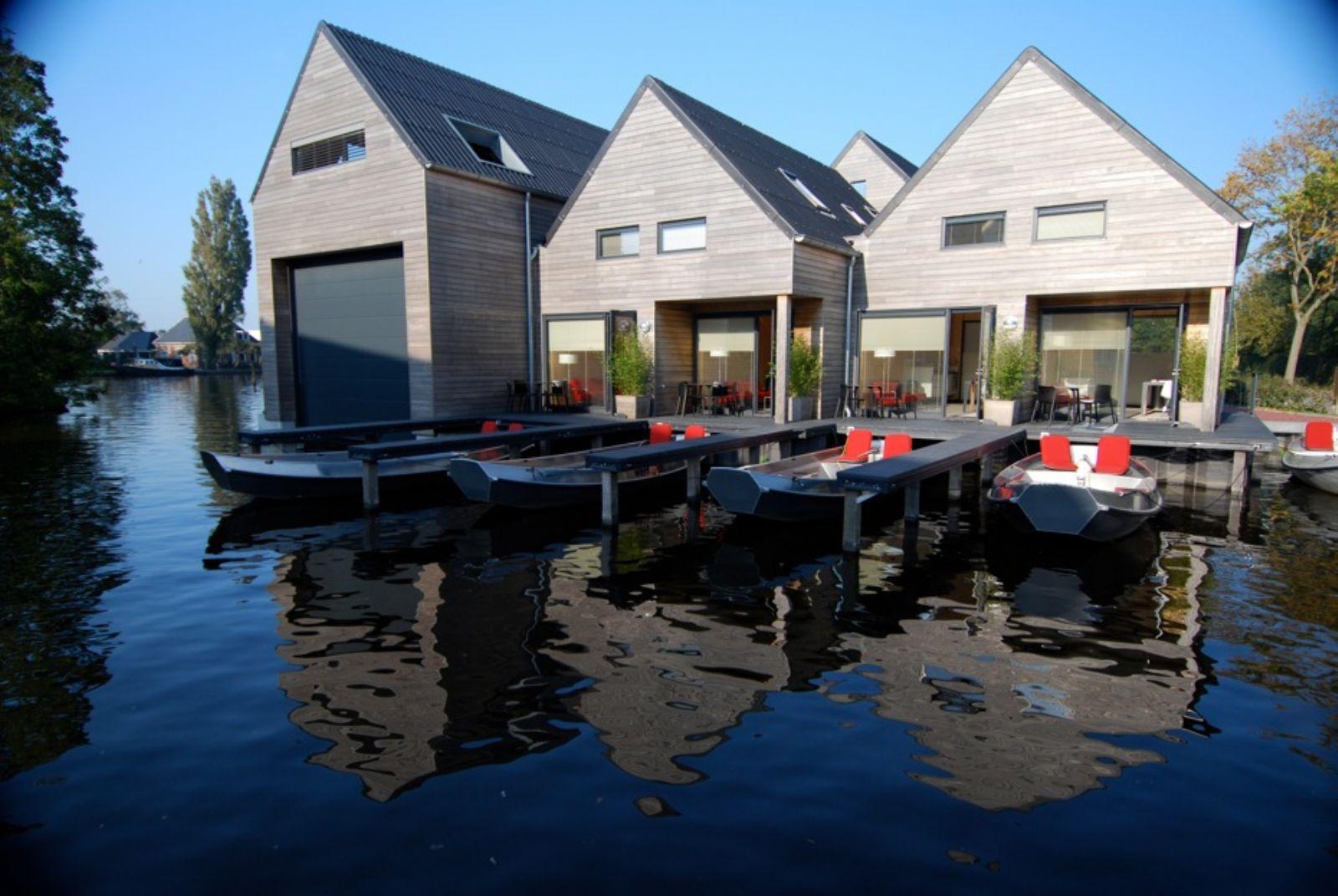 stijlvolle accommodaties aan het water