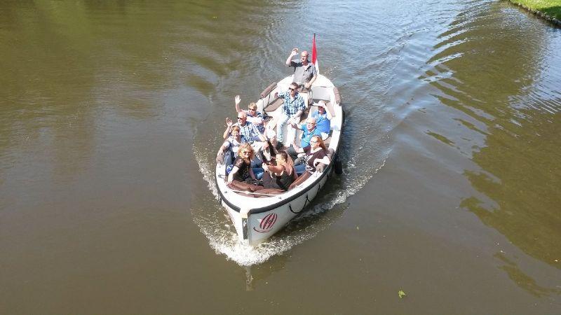 Vrijgezellenfeest op en aan het water