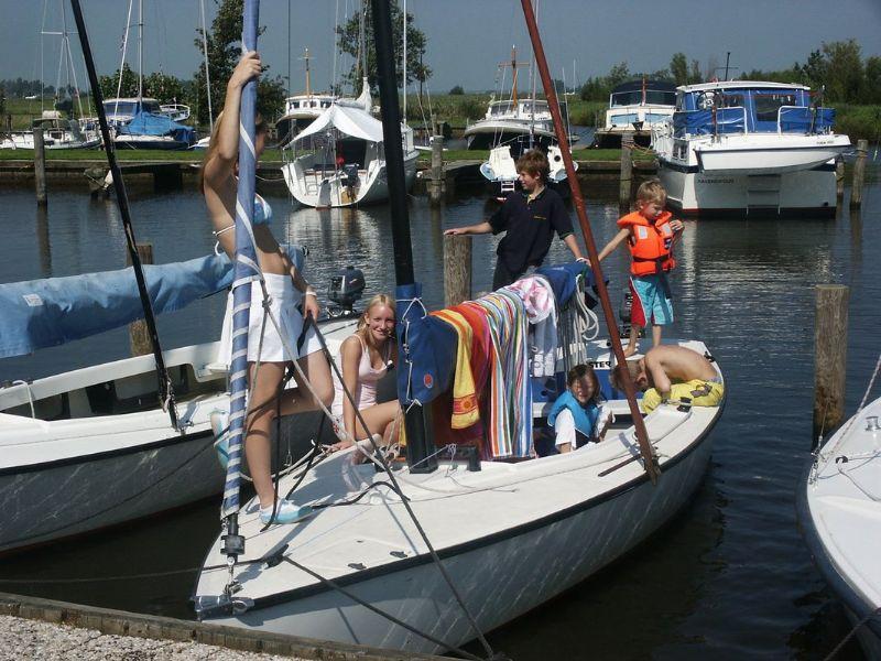 zeilboot verhuur van twee tot zes personen