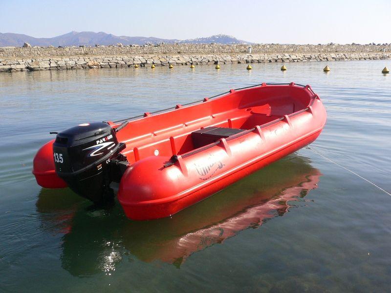 verschillende open motorbootjes te huur