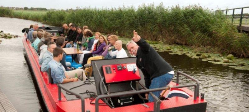 partyboot voor kleine gezelschappen