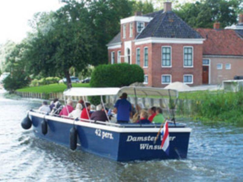 rondvaartboot van 2 tot 42 personen