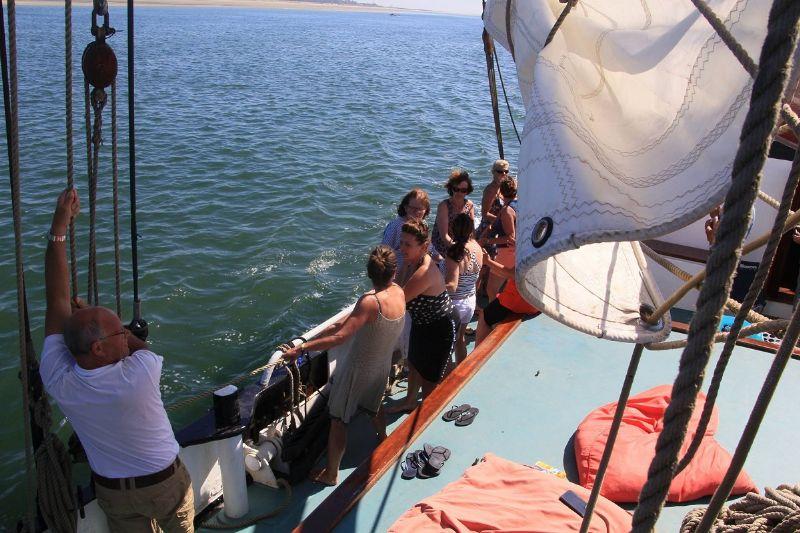 zeiltocht op een bruine vloot: het ideale groepsuitje