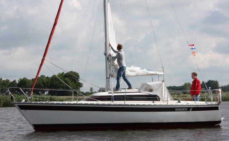 verhuur van zeiljachten in Friesland