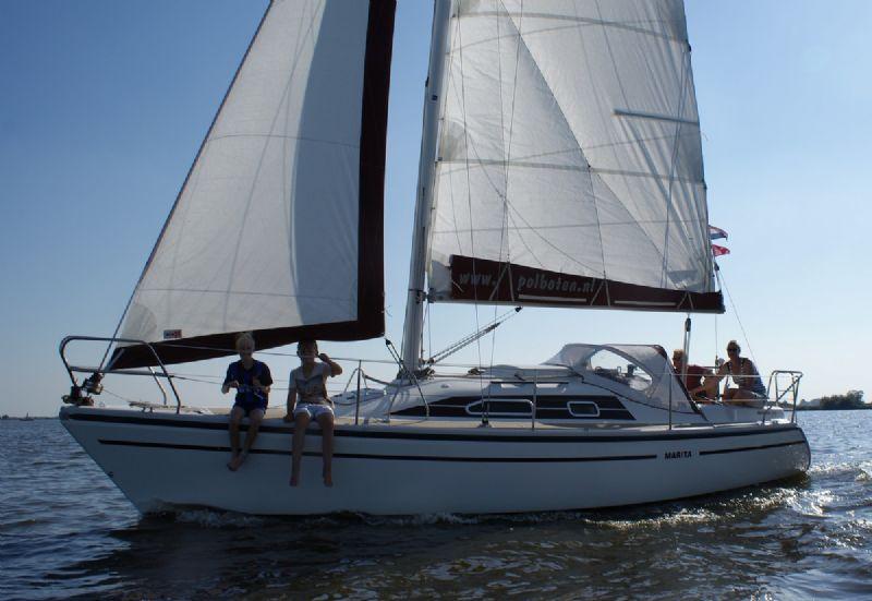 yachtcharter voor de Friese meren